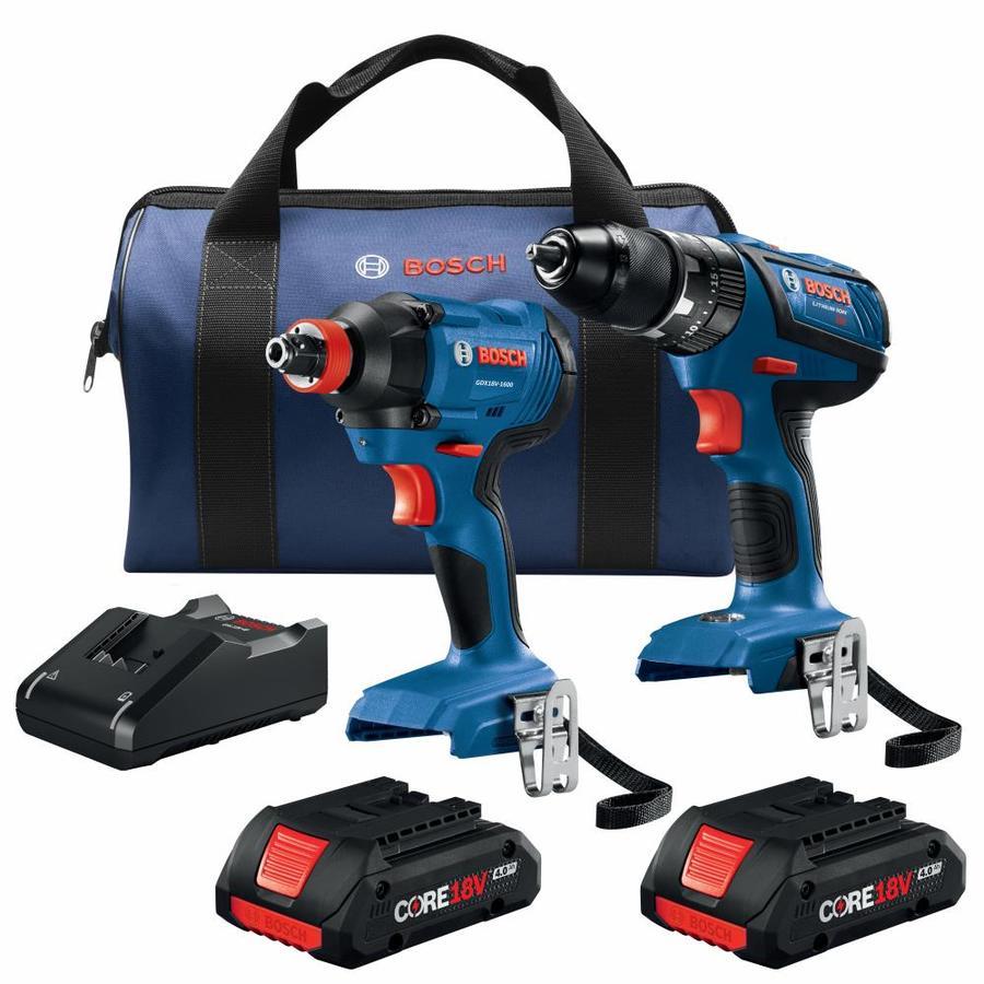 Bosch CORE18V 2-Tool 18-Volt Power Tool Combo kit YMMV- $100