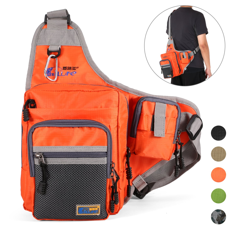 Walmart iLure Fishing Bag Multi-Purpose Waterproof Canvas Fishing Backpacks $14.99+FS
