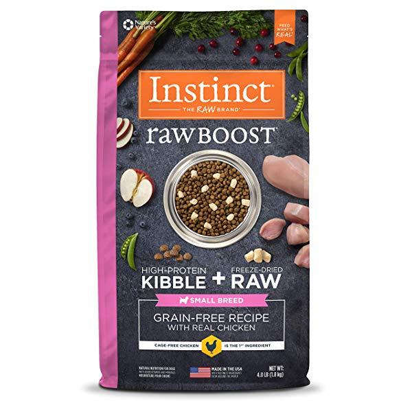 Instinct Raw Boost Small Breed Grain Free Dog Food