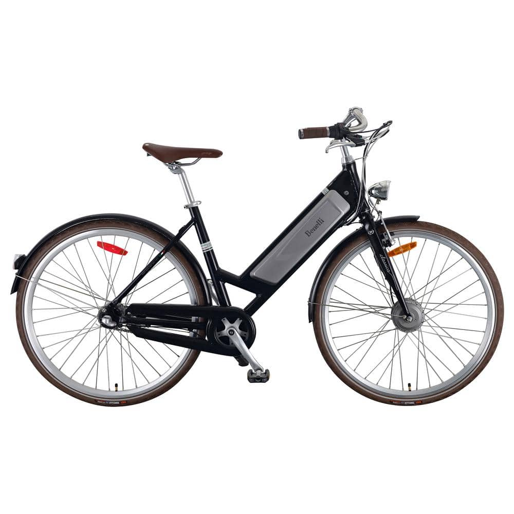 Benelli Classica 28 in. Adult Unisex Vintage Style Electric Bicycle with Pedal Assist - $649 (normally $1,499)