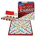 Scrabble Game, Tile Lock, $7.98 + free Prime shipping or free ship w/ Target Red Card