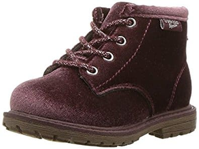 OshKosh B'Gosh Girl's Velvet Ankle Fashion Boot or Clog Fashion Boot sz 6-12 under $10 w/ free Prime ship