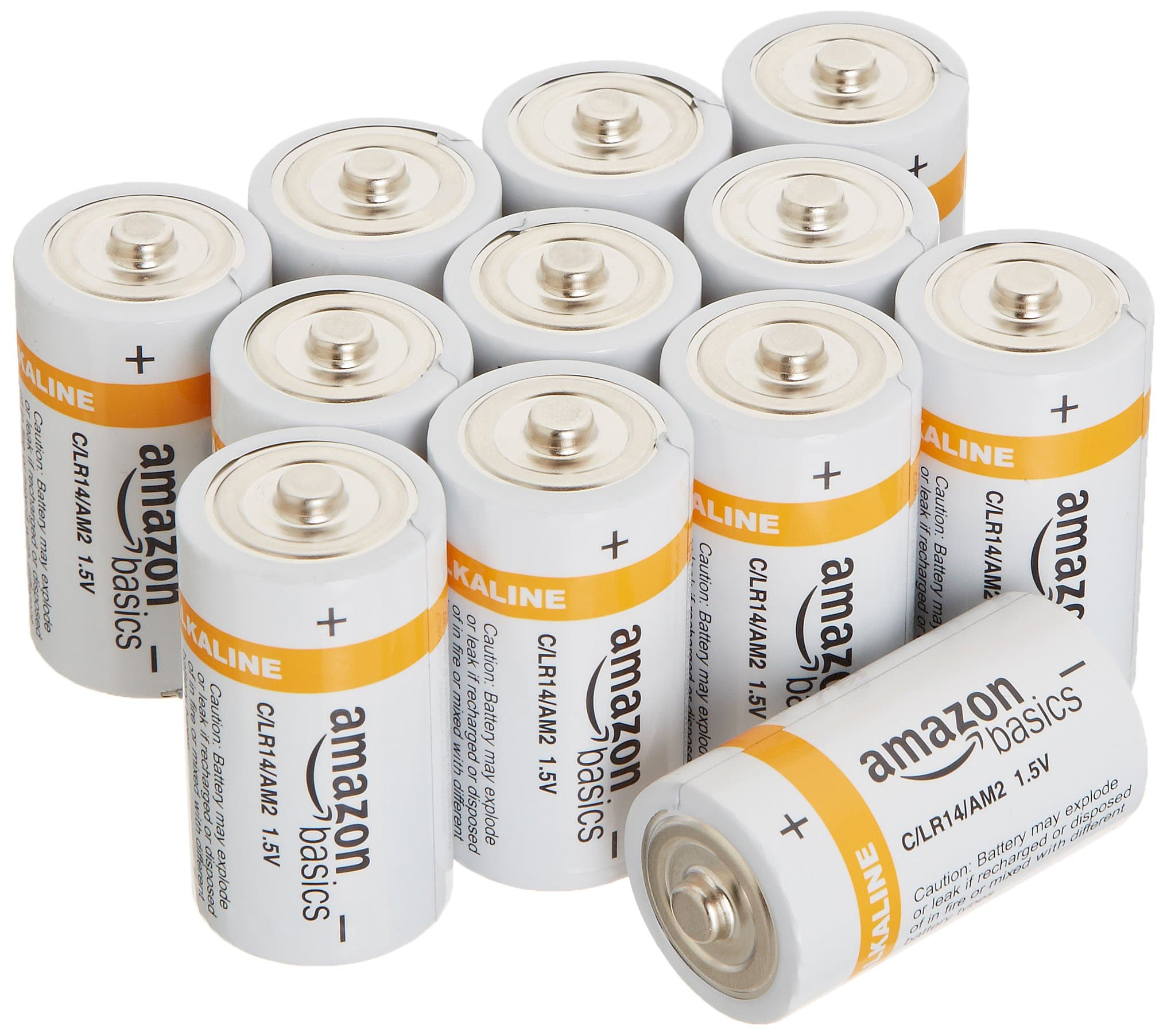 Amazon Basics D Cell  Batteries (12-Pack) $8.99 + free Prime shipping