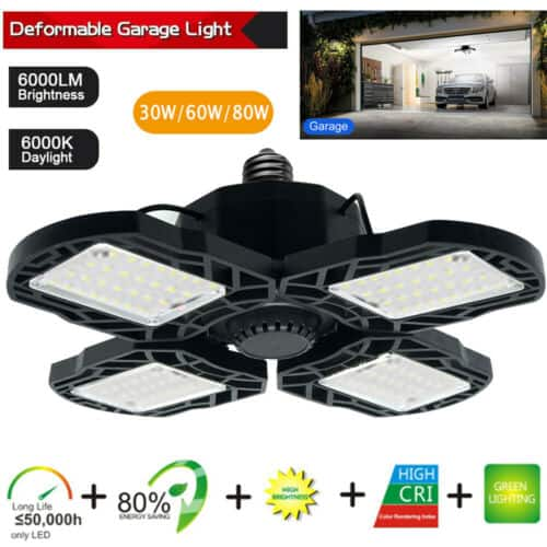 ebay:Lixada 30-120W 8000LM Deformable LED Light $10.99-$21.99+FS