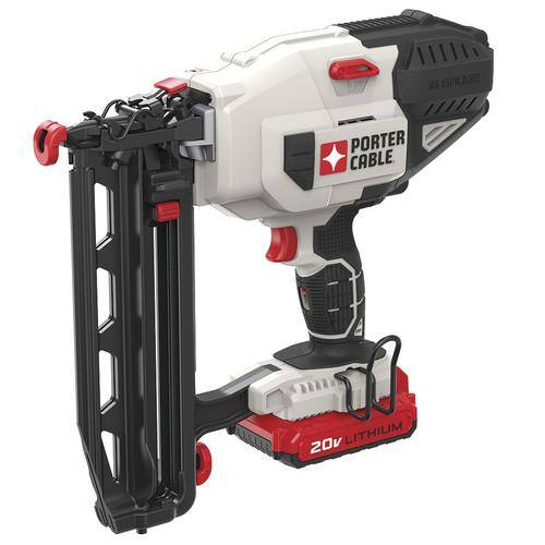Porter Cable® 20-Volt Lithium-Ion Cordless 16-Gauge Straight Finish Nailer Kit $149 at Menards