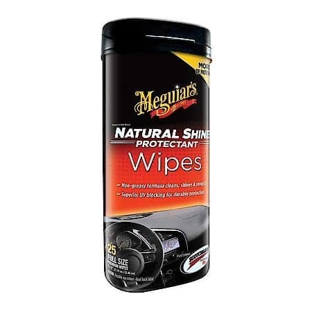 Meguiar's Natural Shine Protectant Wipe (25 wipes) G4100 - $1.35