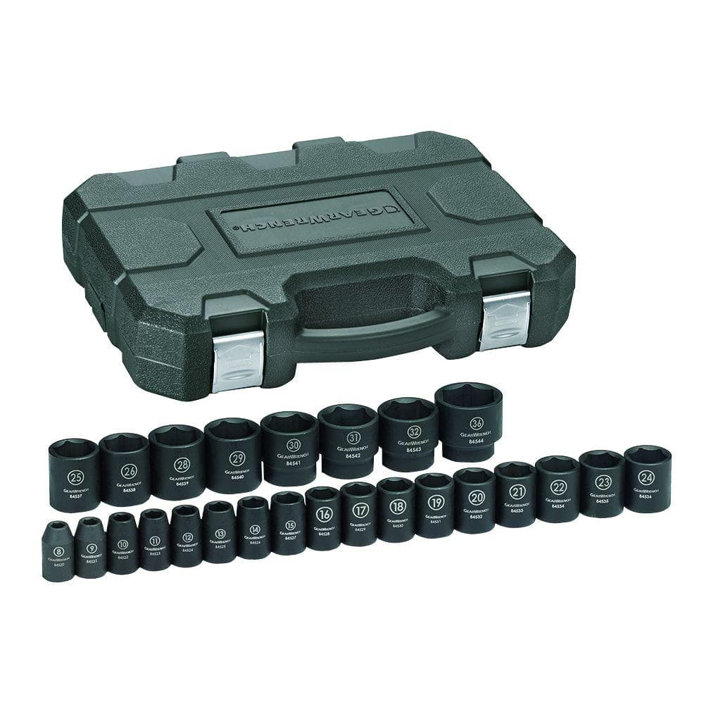 GearWrench 25pc Impact Socket Set - $57.31