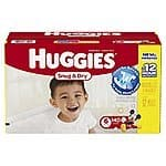 Huggies Snug and Dry Diapers, Size 4 29$ after 3$off