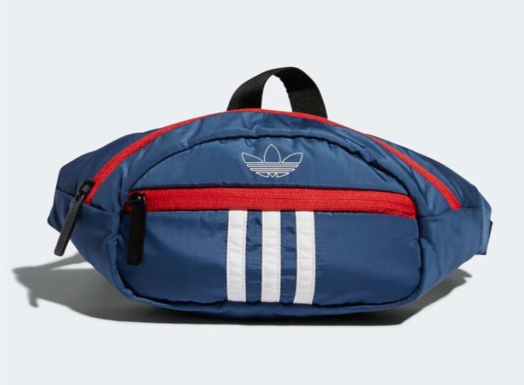 Adidas NATIONAL 3-STRIPES WAIST PACK $18