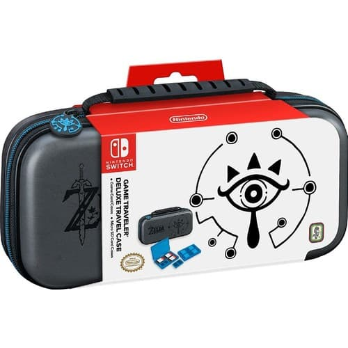 Nintendo Switch Game Traveler Zelda Black Deluxe Travel Case at Gamestop $10.97