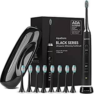 Black Series Ultra Whitening Toothbrush – ADA Accepted Electric Toothbrush 32%OFF $25.12