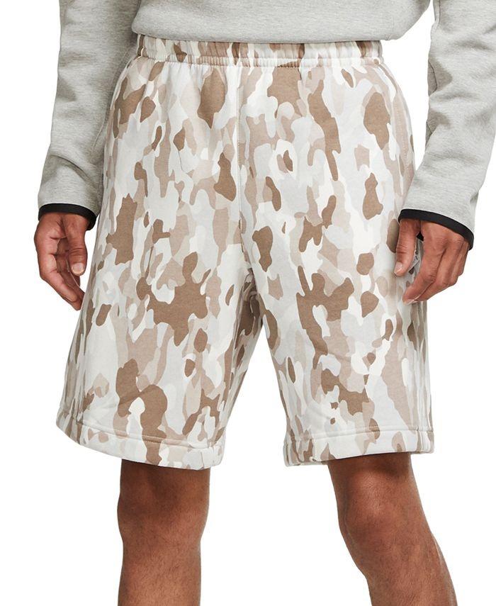 Nike Men's Camouflage Fleece Shorts $17.93