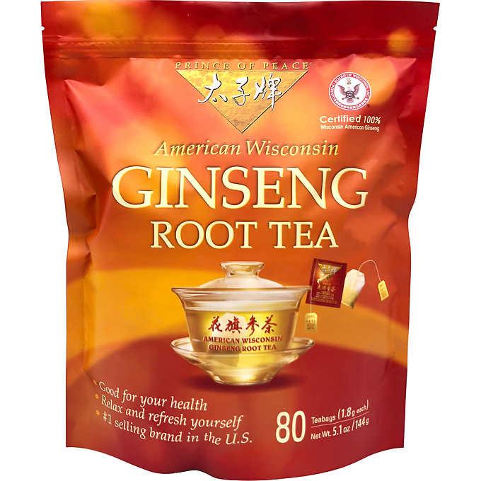Prince Of Peace Ginseng Root Tea (80 Tea Bags) $27 $26.98