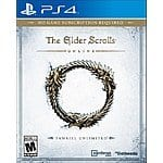The Elder Scrolls Online: Tamriel Unlimited PS4 or Xbox One $24.99 FS (used) @ Gamefly