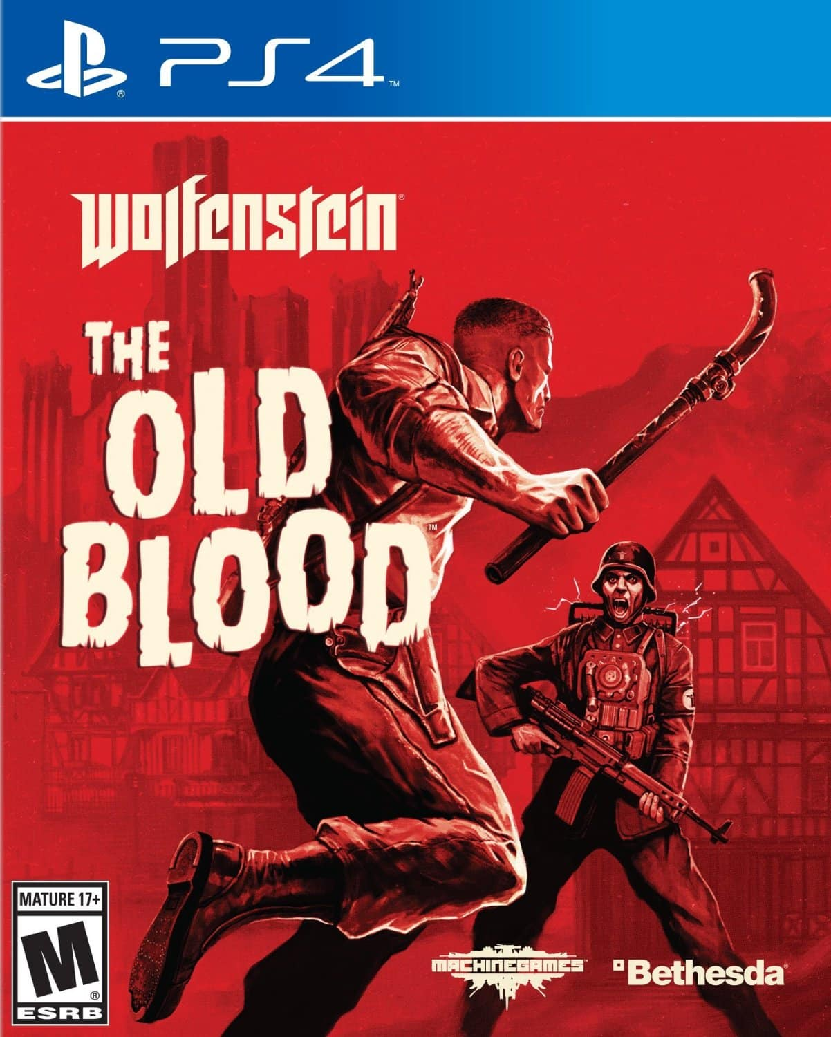 Wolfenstein: The Old Blood - PS4 [Digital Code] $6.60 or Less