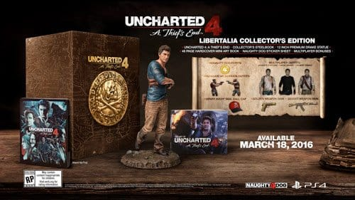 Uncharted 4: A Thief's End Libertalia Collector's Edition (PS4) $70 or less + Free Shipping
