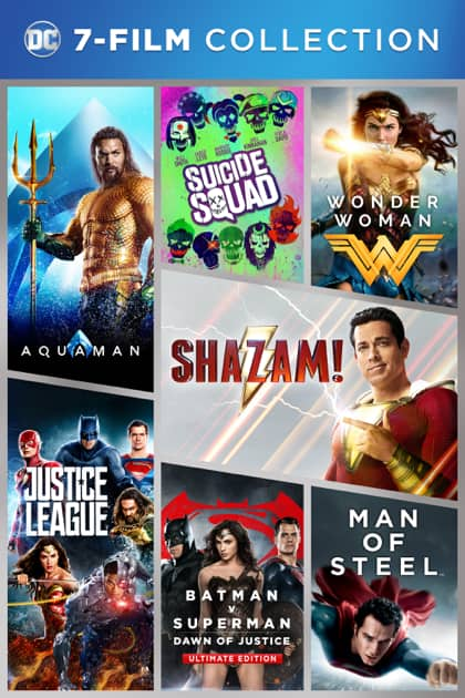 DC 7-Film Collection: Wonder Woman, Aquaman, Shazam! & More (Digital 4K/HD) for $49.99