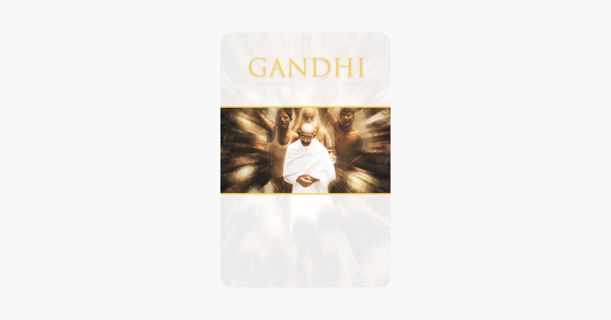 Gandhi (1982) (Digital 4K UHD) $5