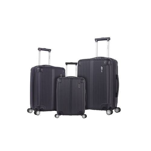 Rockland Hardside Spinner 3-Piece Luggage Set (20 inch, 24 inch, 28 inch) Black - $56.04 + Tax (Reg 129.99 + Tax)