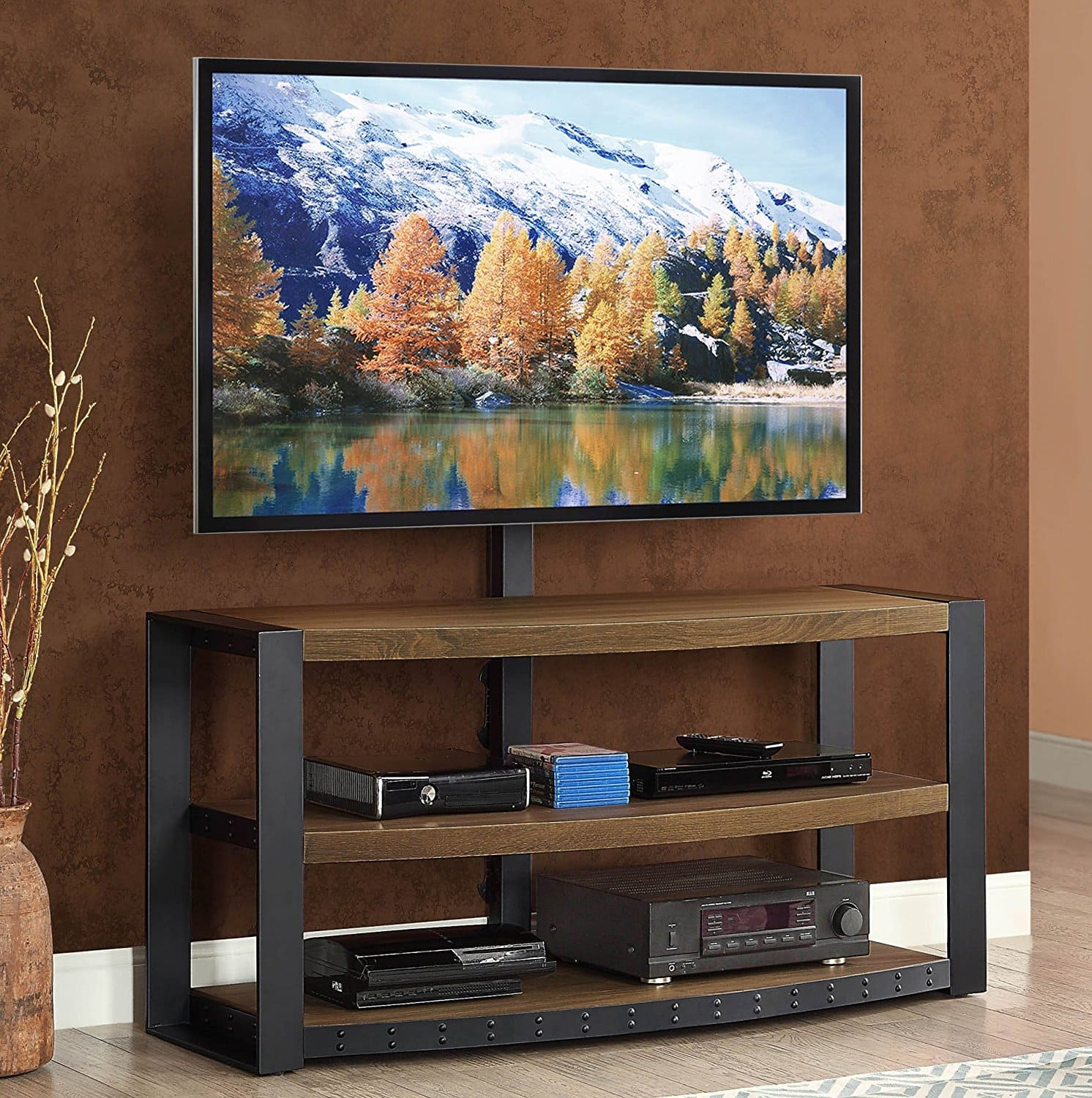 Whalen Santa Fe 3 In 1 Tv Stand Up To 65 Slickdeals Net