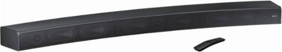 Samsung - 3-Channel Hi-Res Curved Soundbar with Built-in Subwoofer $225