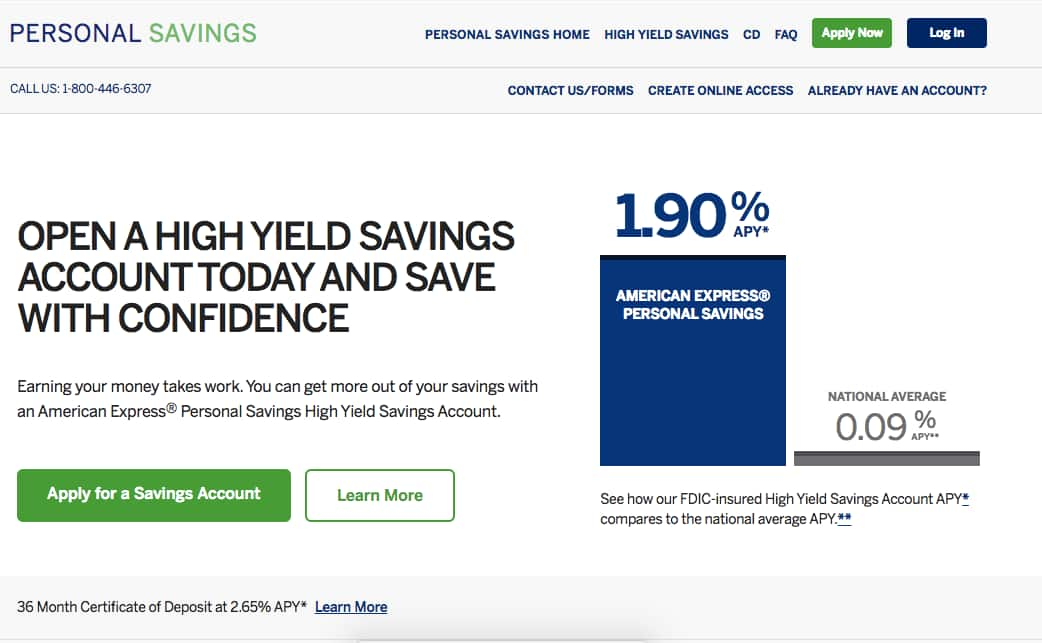 American Express Online Savings >> Amex High Yield Savings Account Slickdeals Net
