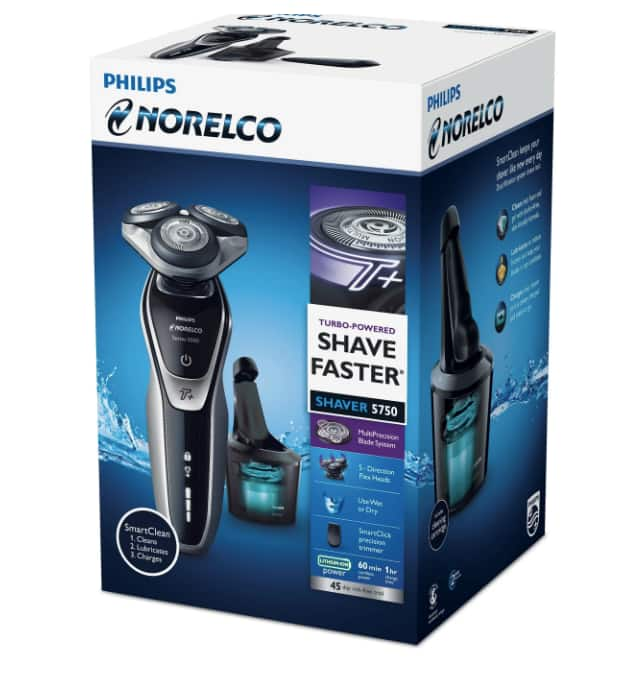 new concept 424f0 22725 Philips Norelco Series 5750 Wet & Dry Men's Rechargeable ...
