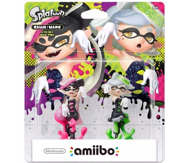 New Splatoon 2-Pack Amiibo (Callie & Marie) for $24.99 ($19.99 with GCU) & New Recolored Splatoon Series 3-Pack Amiibo (Inkling Girl/Squid/Boy) for $34.99 ($27.99 with GCU)