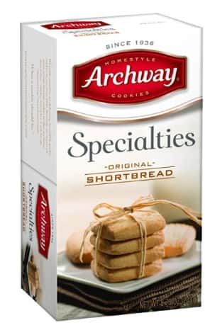 Archway Original Cookies, Shortbread, 8.75 Ounce $1.77 or less with Amazon S & S
