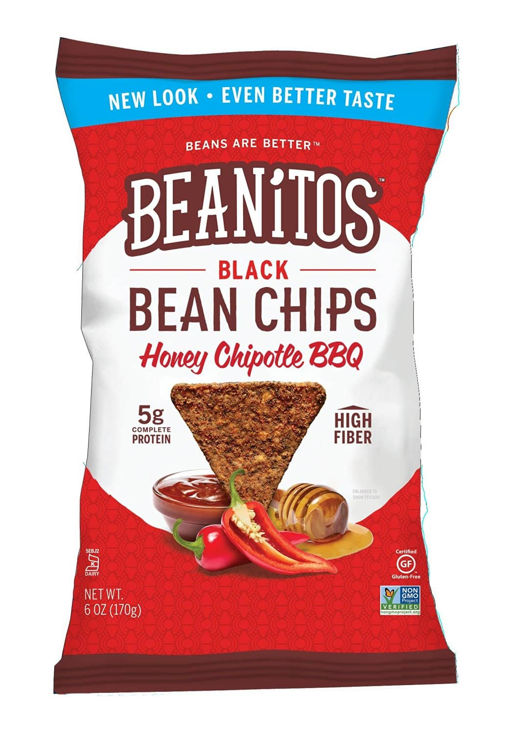 DEAD- Beanitos Black Bean Honey Chipotle BBQ, 6 Ounce (Pack of 6) $2.63 or less with Amazon S & S