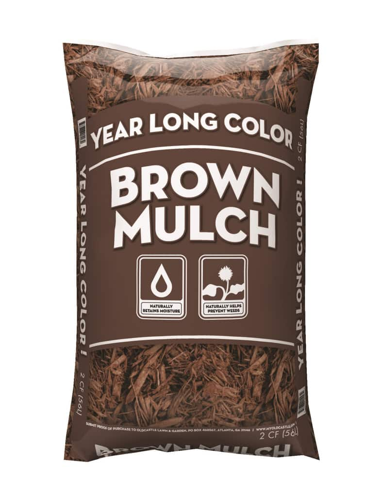 2CF Year Long Brown Mulch Walmart YMMV BM only 1.50 Red and Black also - $1.50