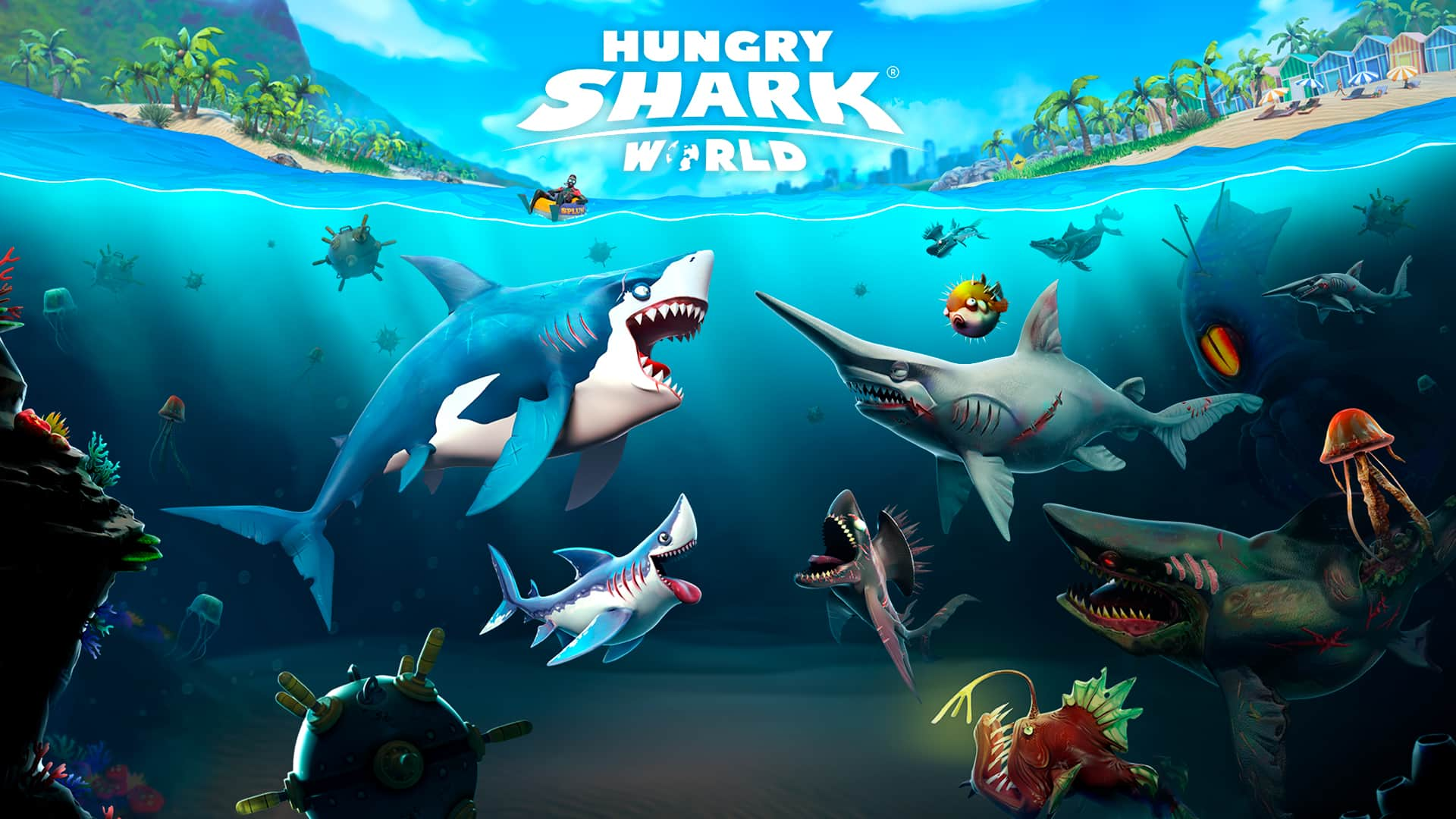 Hungry Shark® World $2.49 for Nintendo Switch