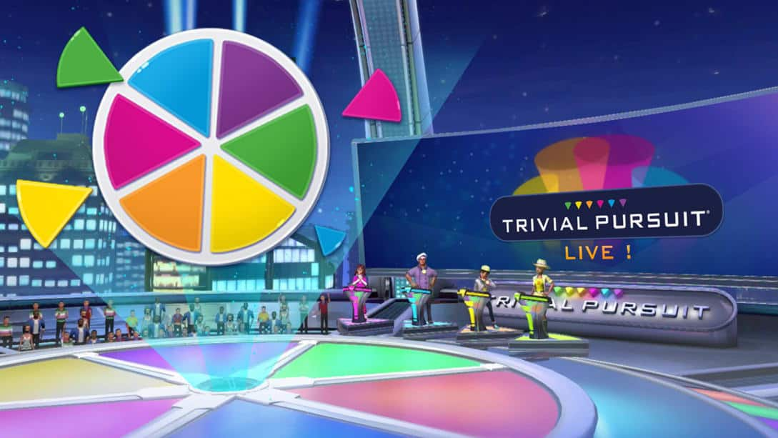 TRIVIAL PURSUIT  Live $9.99 for Nintendo Switch