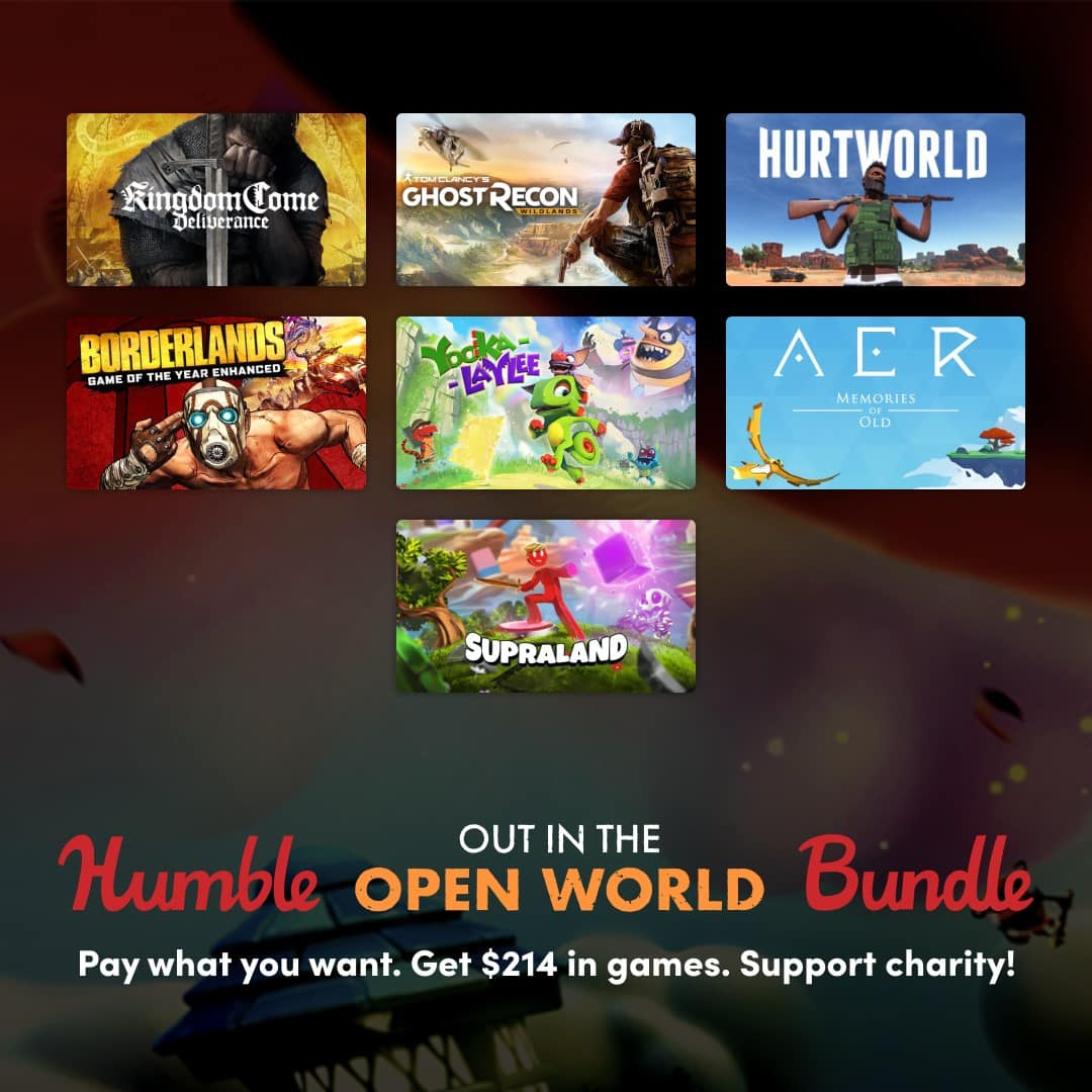 """Humble """"Out in the Open World"""" Bundle $12"""