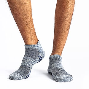 Prime Day Deal: u&i Men's Cotton Low Cut Ankle Athletic Socks (6-Pack/12-Pack) 45% OFF $11.99