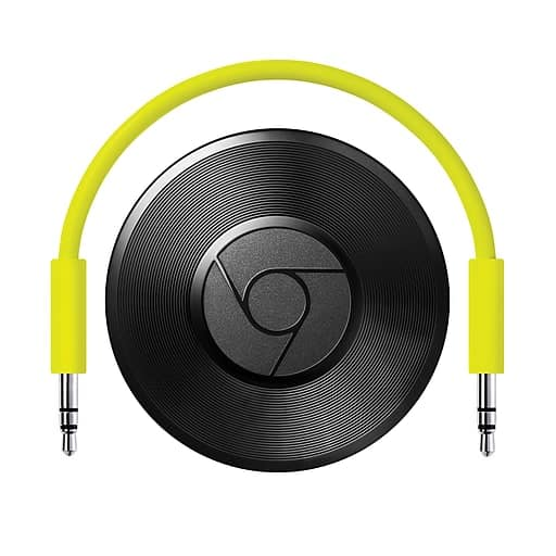 Staples Google Chromecast audio $15