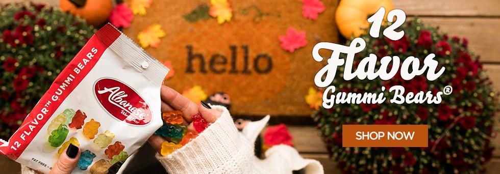 Albanese Candy Halloween & Fall Gummies: 1lb Bag $1.50, 5lb Bag $6 & More