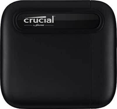 Crucial - X6 SE 4TB External USB-C/USB-A Portable Solid State Drive - $289
