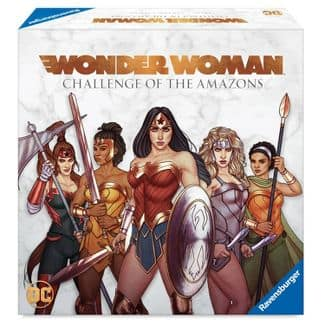 YMMV - Wonder Woman: Challenge of the Amazons board game $10.49