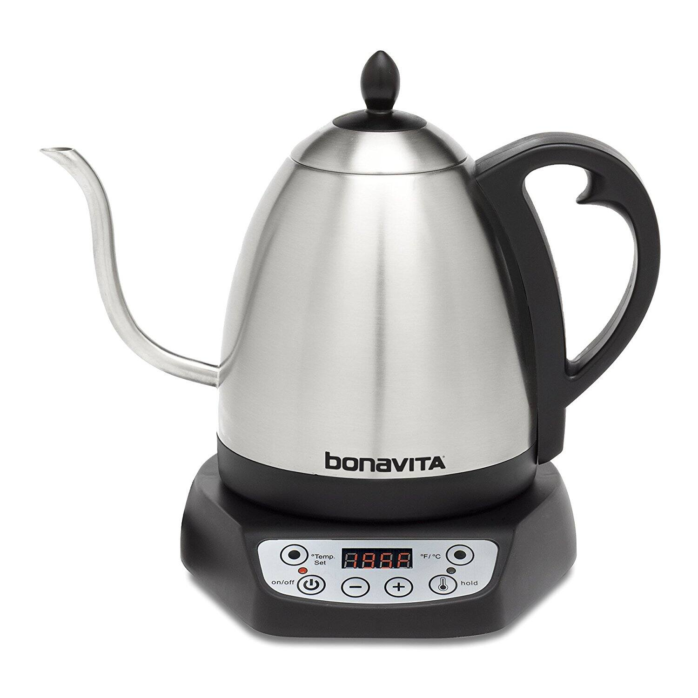 Bonavita 1.0L Variable Temperature Gooseneck Electric Kettle - $55
