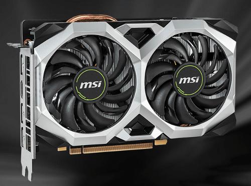 MSI GeForce RTX 2060 VENTUS XS OC 6GB $329 AR @Frys