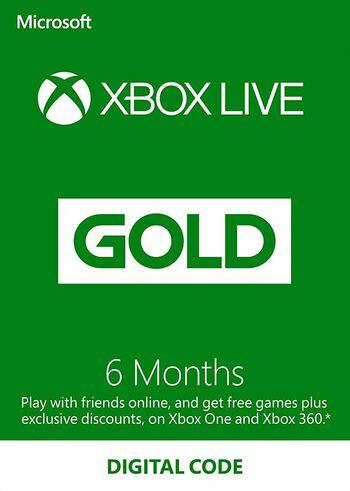 Xbox Live Gold - 6 months Xbox Live Key - UNITED STATES   ENEBA