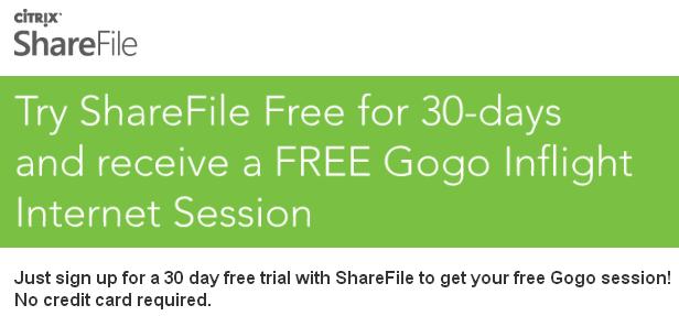 FREE Gogo in-flight internet access - unknown expiration