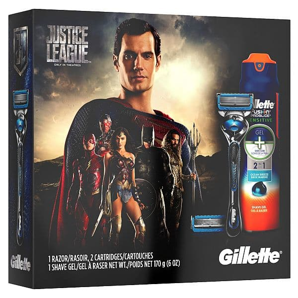 Gillette Fusion ProShield Chill handle x 2, cartridges x 4, shave gel x 2 - FS w/ $25 OR Store Pickup $14.98