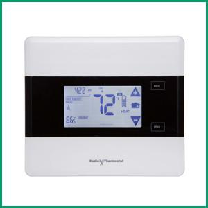 Radio thermostat z-wave communicating touch screen thermostat ct101 $37