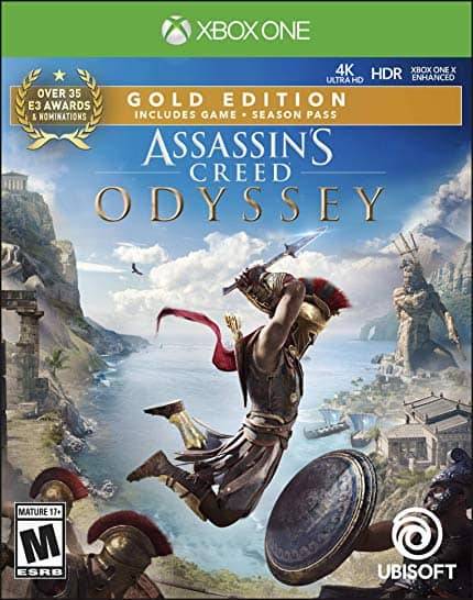 Assassin's Creed Odyssey: Gold Edition - Xbox One [Digital Code] - Amazon $25