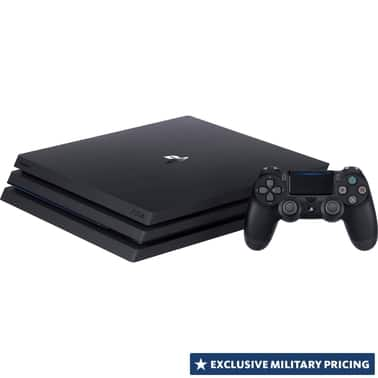 Sony PlayStation 4 Pro - $249 (Military Affiliated Shoppers Only) - Shopmyexchange/AAFES