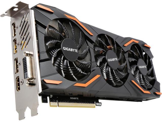 GIGABYTE GeForce GTX 1080 N1080WF3OC-8GD $450 AC and AR