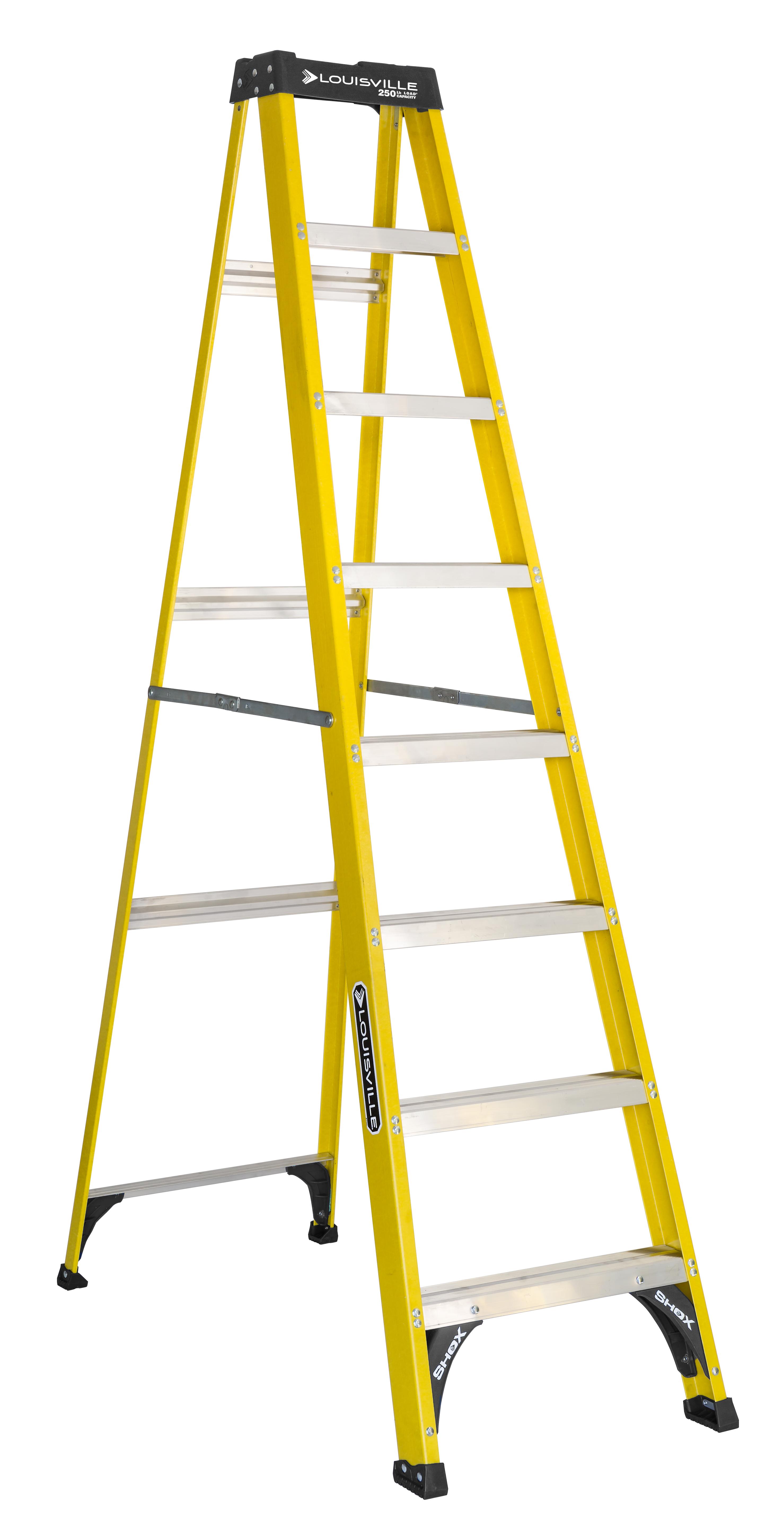Louisville Ladder 8-foot Fiberglass Step Ladder @Walmart $86 FS