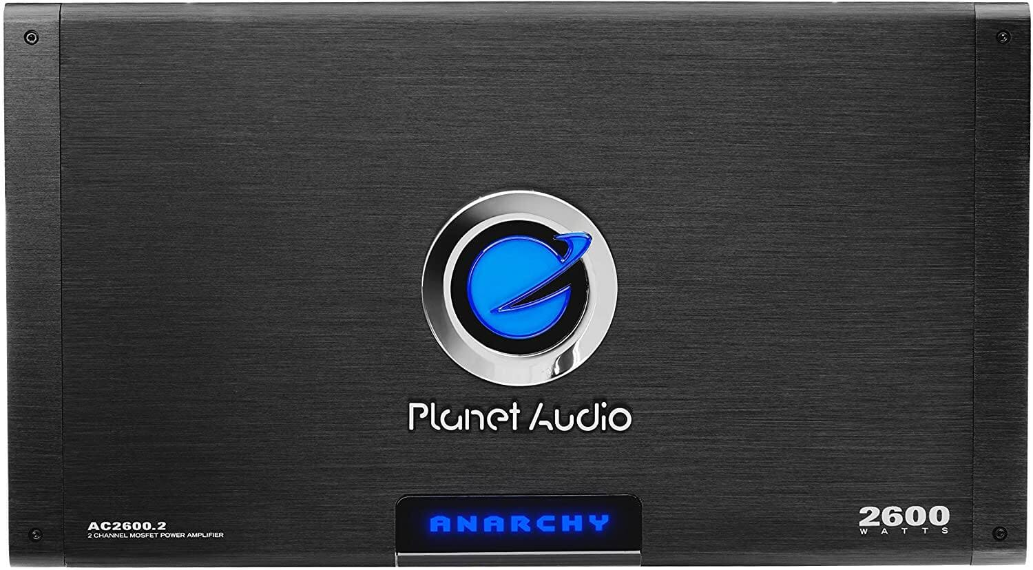 Planet Audio AC2600.2 2 Channel 2600W Car Amplifier for $129.99 + Free Shipping